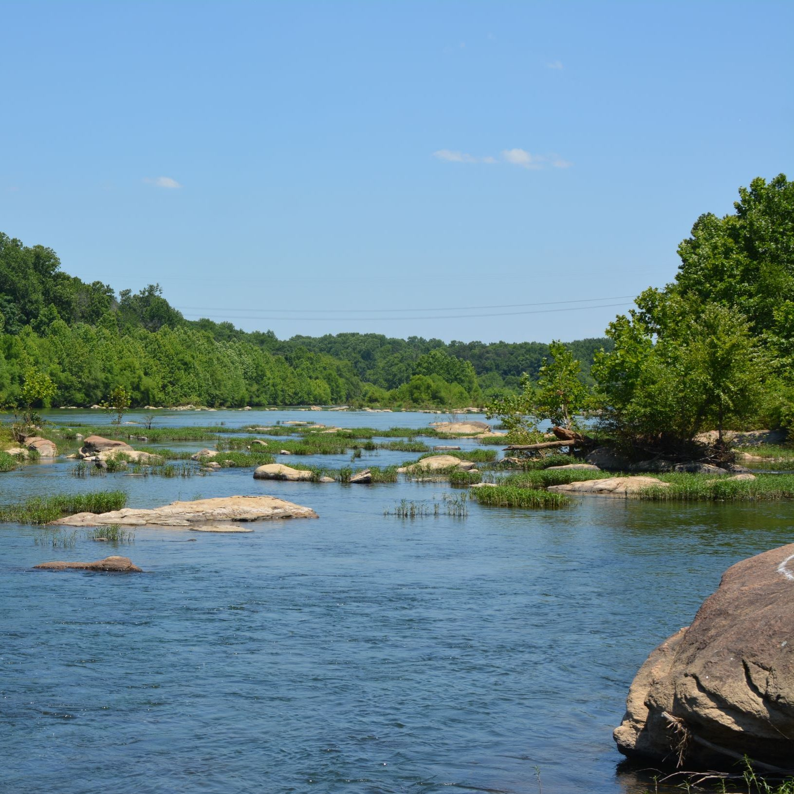 Hvac specialists in stafford shot of Rappahannock river